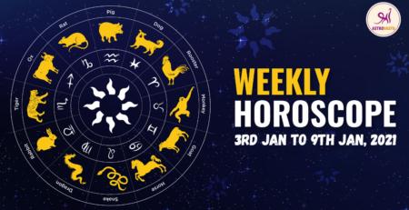 Weekly horoscope jan 2021